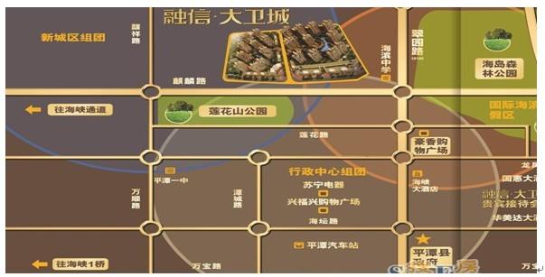 项目位于福建省福州市平潭县翠园北路西侧,海滨中学西侧,麒麟路北侧